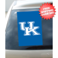 Car Accessories, Flags: Kentucky Wildcats Car Window Flag