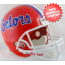 Florida Gators Full Size Replica Football Helmet Blue Flake