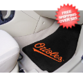 Car Accessories, Detailing: Baltimore Orioles Car Mats 2 Piece