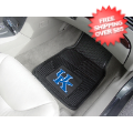 Car Accessories, Detailing: Kentucky Wildcats Vinyl Car Mats