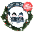 Gifts, Holiday: Seattle Seahawks Wreath
