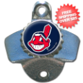 Home Accessories, Kitchen: Cleveland Indians Wall Mounted Bottle Opener