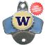 Washington Huskies Wall Mounted Bottle Opener