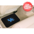 Car Accessories, Detailing: Kentucky Wildcats Vinyl Car Mats Rear 2 Piece