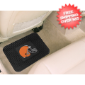 Car Accessories, Detailing: Cleveland Browns Vinyl Car Mats Rear 2 Piece