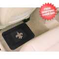 Car Accessories, Detailing: New Orleans Saints Vinyl Car Mats Rear 2 Piece
