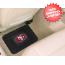 San Francisco 49ers Vinyl Car Mats Rear 2 Piece