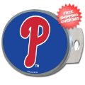 Car Accessories, Hitch Covers: Philadelphia Phillies Oval Hitch Cover