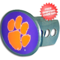 Car Accessories, Hitch Covers: Clemson Tigers Oval Hitch Cover