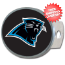 Carolina Panthers Oval Hitch Cover