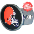 Car Accessories, Hitch Covers: Cleveland Browns Oval Hitch Cover