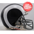 Helmets, Mini Helmets: LA Rams 1965 to 1972 Riddell Mini Replica Throwback Helmet