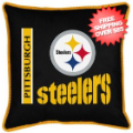 Home Accessories, Bed and Bath: Pittsburgh Steelers Toss Pillow Sideline