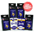 Gifts, Holiday: Minnesota Vikings Flash Cards