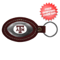 Gifts, Novelties: Texas A&M Aggies Leather Key Chain