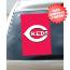 Cincinnati Reds Car Window Flag