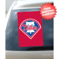 Car Accessories, Flags: Philadelphia Phillies Car Window Flag