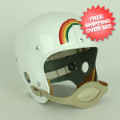 Helmets, Full Size Helmet: Hawaii Warriors 1947 Full Size NCAA Throwback Vintage Football Helmet