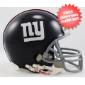 Helmets, Mini Helmets: New York Giants 1961 to 1974 Riddell Mini Replica Throwback Helmet