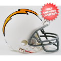 Helmets, Mini Helmets: San Diego Chargers 1961 to 1973 Riddell Mini Replica Throwback Helmet