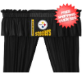 Home Accessories, Bed and Bath: Pittsburgh Steelers Valance