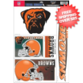 Car Accessories, Detailing: Cleveland Browns Static Cling