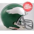 Helmets, Mini Helmets: Philadelphia Eagles 1959 to 1969 Riddell Mini Replica Throwback Helmet