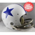 Helmets, Full Size Helmet: Dallas Cowboys 1960 to 1963 TK Throwback Football Helmet
