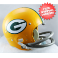 Helmets, Full Size Helmet: Green Bay Packers 1961 to 1979 TK Throwback Football Helmet
