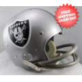 Helmets, Full Size Helmet: Oakland Raiders 1964 TK Throwback Football Helmet