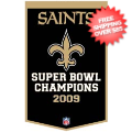 Home Accessories, Game Room: New Orleans Saints Dynasty Banner