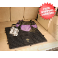 Car Accessories, Detailing: New Orleans Saints Cargo Mat Vinyl