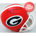 Autographs, Full Size Helmet: Herschel Walker Georgia Bulldogs Autographed Full Size Authentic Helmet