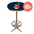 Home Accessories, Game Room: Cleveland Indians Pub Table