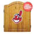 Home Accessories, Game Room: Cleveland Indians Dart Board Cabinet Set