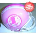 Helmets, Mini Helmets: Washington Redskins Riddell Pink Speed Mini Helmet