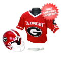 Apparel, Youth Uniform Set: Georgia Bulldogs NCAA Youth Uniform Set Halloween Costume