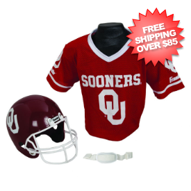 Oklahoma Sooners NCAA Youth Uniform Set Halloween Costume