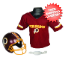 Washington Redskins NFL Youth Uniform Set Halloween Costume