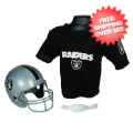Apparel, Youth Uniform Set: Oakland Raiders NFL Youth Uniform Set Halloween Costume