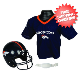 Denver Broncos NFL Youth Uniform Set Halloween Costume