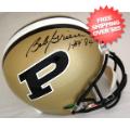 Autographs, Full Size Helmet: Bob Griese Purdue Boilermakers Autographed Full Size Replica Helmet