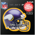 Gifts, Holiday: Minnesota Vikings Helmet Puzzle 100 Pieces Riddell
