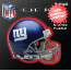 New York Giants Helmet Puzzle 100 Pieces Riddell