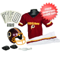 Apparel, Youth Uniform Set: Washington Redskins Uniform Medium (ages 7-10)