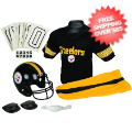 Apparel, Youth Uniform Set: Pittsburgh Steelers Uniform Medium (ages 7-10)