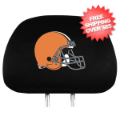 Car Accessories, Detailing: Cleveland Browns Headrest Cover