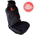 Car Accessories, Detailing: Miami Hurricanes Seat Cover