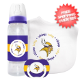 Gifts, Baby: Minnesota Vikings Baby Gift Set