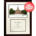 Home Accessories, Den: Ohio State Buckeyes Graduate Framed Lithograph